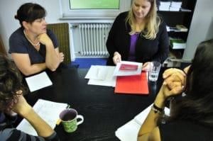 Lektoratssitzung im Verlag Barbara Budrich