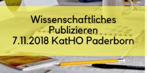 Wissenschaftliches Publizieren Paderborn