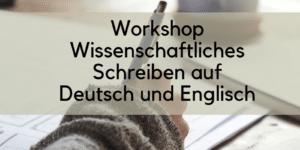 Wissenschaftliches Schreiben TU Kaiserslautern